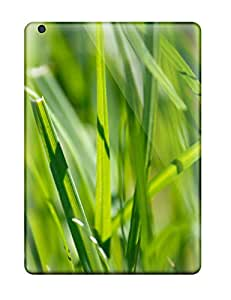 New Awesome Grass By Jenz Dyrvq Tpu Skin Case Compatible With Ipad Air