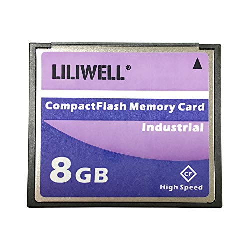 (LILIWELL Original 8GB CompactFlash Memory Card Industrial (TS8GCF133) Camera Cards)