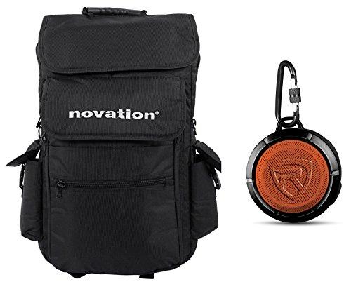 Novation 25-Key Case Soft Carry Bag 4 Launchkey 25 MIDI Keyboards+Speaker!