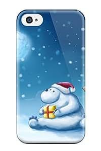 Alanda Prochazka Yedda's Shop 8746243K6992 5c6 5c3 High Impact Dirt/shock Proof Case Cover For iPhone 5c (christmas At Polar)
