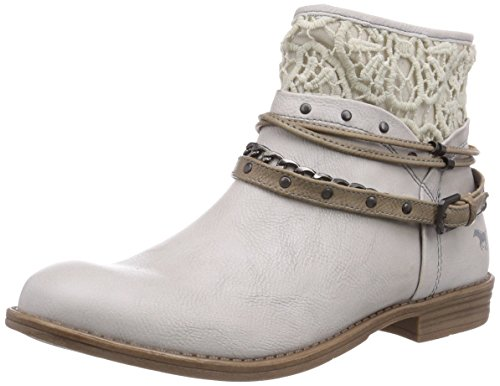 203 1157 Women boots short 203 white Off classic Mustang 514 Cold Ice lined length qawxtTft