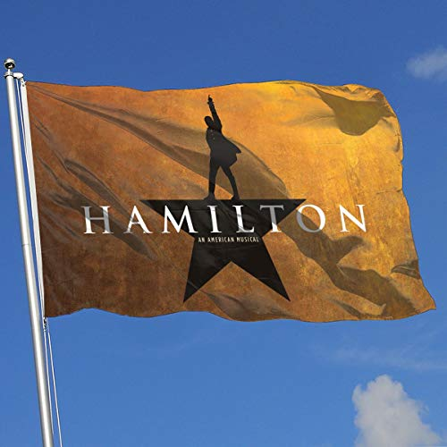 Hamilton Musical 100% Polyester Garden Flag 3 X 5 Flag For House Decorative Yard Banner