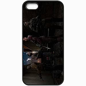 Personalized iPhone 5 5S Cell phone Case/Cover Skin Left 4 Dead Black