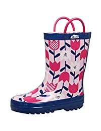 Jan & Jul Natural Rubber Rain Boots Toddler Boys Girls Kids