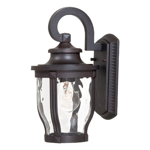 Minka Lavery Outdoor Wall Light 8761-166 Merrimack Aluminum Exterior Wall Lantern, 100 Watts, Bronze by Minka Lavery