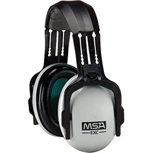 MSA SoundControl Earmuffs, EXC Headband, NRR 24, Gray/Black (6 Pack)
