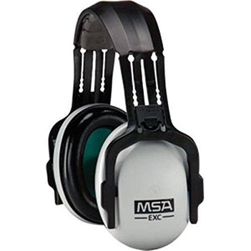 MSA SoundControl Earmuffs, EXC Headband, NRR 24, Gray/Black (7 Pack)