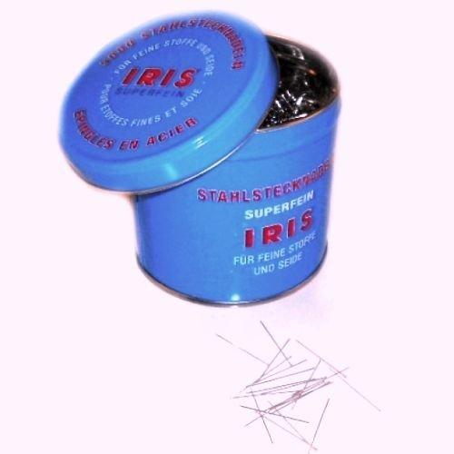 Iris 1-1/4'' Super Fine Tailoring Dressmaker Straight Pins - 5,000 Pcs by IRIS USA, Inc.