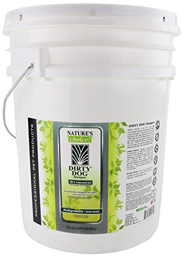 Nature's Choice Dirty Dog 50:1 Shampoo, 5 Gallon by Wild Animal