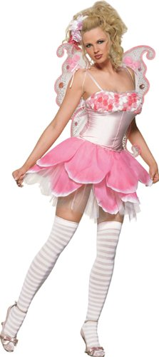 Rose Petal Pixie Adult Costume - X-Small