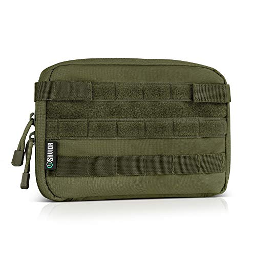 Savior Equipment Tactical Military MOLLE Admin Pouch Modular Utility Tools Multi-Purpose EDC Waist Belt Organizer - Pouch Pack Utility Waist