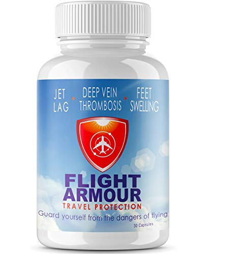 SCIENTIFICALLY FORMULATED Jet Lag Pills (Feel Like You Never Flew) Feet & Leg Swelling + Fatigue | - Business Travel, No-Jet-Lag