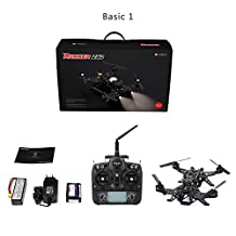 Walkera Runner 250 Drone Racer RC Quadcopter Size Racing Modular UFO with DEVO 7 Transmitter Charger Battery Basic 1 One Version