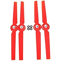 UUMART YUNEEC Q500 Q500M 4K RC Quadcopter Spare Parts 2Pair CW/CCW Propellers-Red