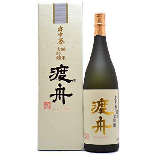 茨城県 府中誉酒造 渡舟(わたりぶね) 純米大吟醸 1800ml  B002TUBOTA