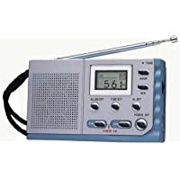 Kaito KA208 Super Mini Size AM/ FM radio with LCD digital display for Fine Tuning