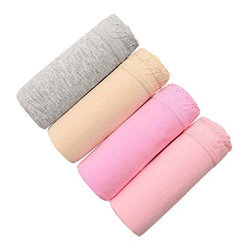 La Sra verano agradable a la piel cómodos calzoncillos/ algodón de la cintura4 Artículo pantalones de boxeo/calzoncillos A