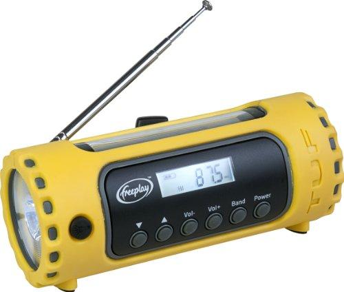 Freeplay Tuf Solar/Crank AM/FM/WX Radio with LED (Freeplay Power Supply)