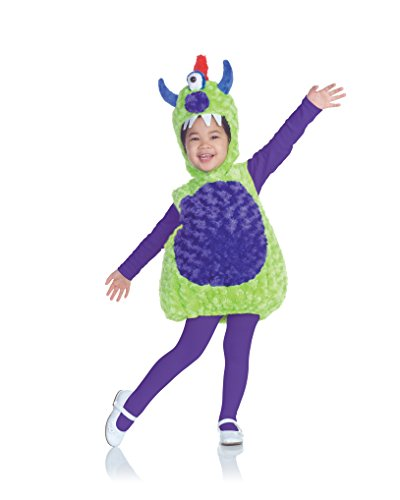Cyclops Dress Fancy Costumes (Underwraps Costumes Baby's Cyclops Monster Alien Costume , Green/Purple,)