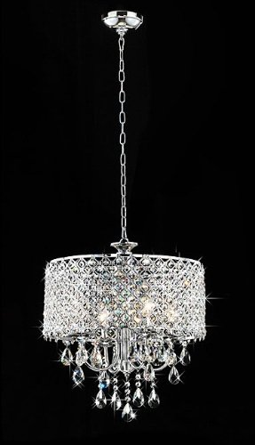 Whse of Tiffany RL 5633 Deluxe Crystal Chandelier
