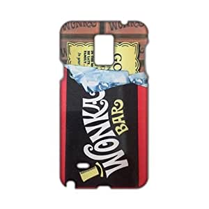 Evil-Store Wonka Bar sweet pattern 3D Phone Case for Samsung Galaxy Note4