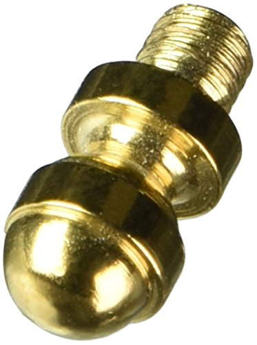 Acorn Tip Solid Brass (Deltana CHAT003 Solid Brass Cabinet Acorn Tip)