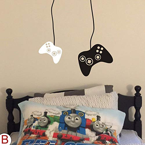 MoharWall Xbox Video Gamer Wall Decal Game Boy Room Sticker Nursery PS2 PS3 PS4 Controller Decor Bedroom Living Room Playroom
