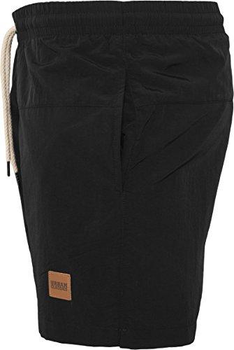 00017 blk De Urban ClassicsTb1026 Noirblk Shorts BainHomme lFKTc1J
