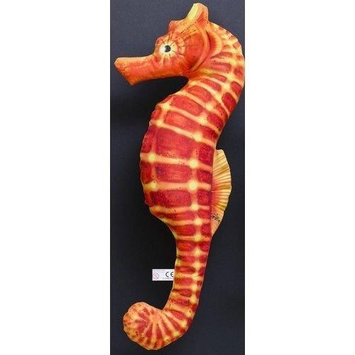 Caballito de mar pescado cojín naranja 70 cm: Amazon.es: Hogar