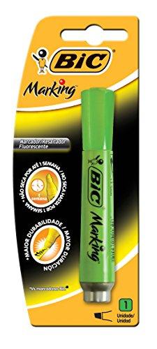 Pincel marca texto chanfrado verde 904199 Bic, BIC, 904199, Verde