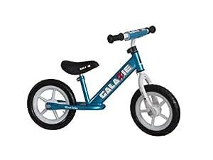 Amazon Com Galaxie Kids No Pedal Balance Bike Blue 12