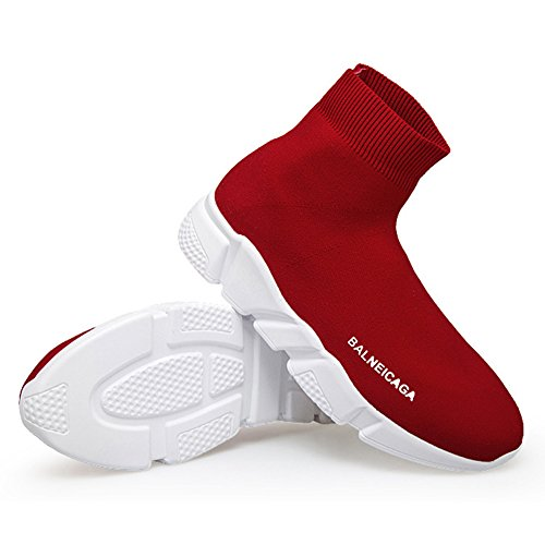 Sneakers In Traspiranti Ultra Passeggio Scarpe Uomo Passeggio Da EU34 Da Da Scarpe Alla Uomo Moda Red Shoes Da Da Donna Maglia EU44 Sportive GSHE E Leggere CUwq5TPx