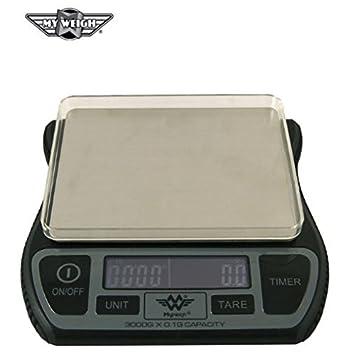 My Weigh Barista función de báscula de cocina con contador digital y temporizador funcionamiento: Amazon.es: Hogar