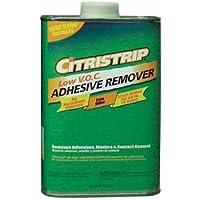 Citri-Strip QCAR30397 Low VOC Adhesive Remover, 1-Quart by Citri-Strip