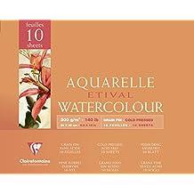 Etival 300g Watercolour 24x30cm Block NOT - 10 sheets
