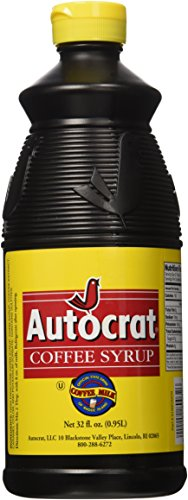 Autocrat Coffee Syrup, 32 oz made in Rhode Island