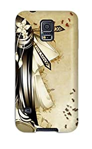 (GVFVMbH5357lSEaH)durable Protection Case Cover For Galaxy S5(nice Images 3d Abstract )