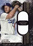 #2: 2016 Topps Tier One Dual Relics #T1DR-CKE Clayton Kershaw Game Worn Jersey Baseball Card – Only 50 made!