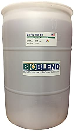 BioBlend BioFlo AW 68 Hydraulic Oil Fluid (55 Gal Drum / 208 Liter