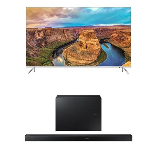 Samsung UN60KS8000 60-Inch TV with HW-K650 Soundbar