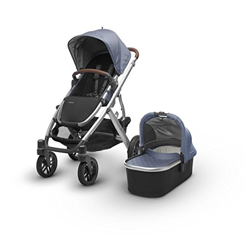 UPPAbaby Vista - Henry (Blue Marl/Silver/Saddle Leather)