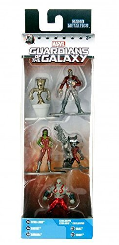 Nano Metalfigs Marvel Guardians of the Galaxy 5-Pack Mini Diecast Figures