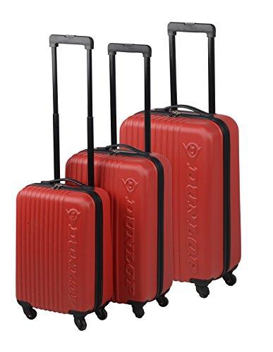 Dunlop Travel Laptop Rollkoffer, 120 Liter, Rot