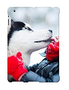 High Quality Tpu Case/ Husky Winter Dog Child Mood Love 4b2cc5d4554 Case Cover For Ipad 2/3/4 For New Year's Day's Gift