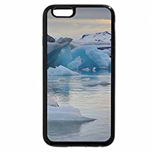 iPhone 6S Plus Case, iPhone 6 Plus Case, sunset , iceland, atlantic ocean