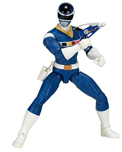 Power Rangers In Space 6.5-Inch Blue Ranger Legacy Figure]()