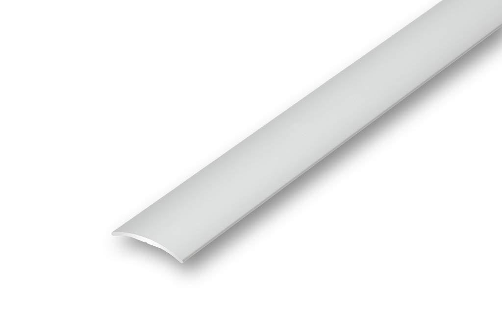 gebohrt in 6 Eloxalfarben T/ürprofil Schweller Ausgleichsprofil 3,87/€//m /Übergangsprofil 30 mm gew/ölbt 900 mm gebohrt, bronze