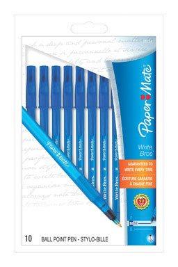 paper-mate-write-bros-stick-medium-tip-ballpoint-pens-10-blue-ink-pens9313499
