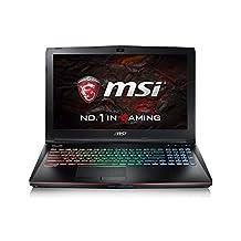 MSI GE62VR 6RF-004CA Apache Pro VR-Ready i7-6700HQ GTX1060 16GB/128GBSSD+1TB, Aluminum Black
