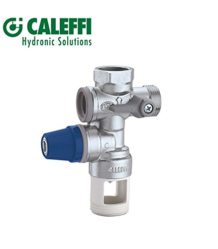 Caleffi Gruppo Sicurezza per Boiler, 3/4'', Cromo 3/4'' 526152